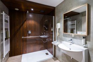 salle de bain - le logis de brionne -gîte en normandie