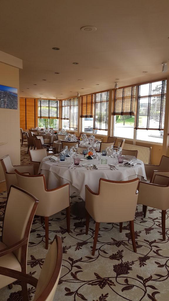 Le Logis de Brionne gîte en Normandie -salla de réception salle de réception 50 personnes